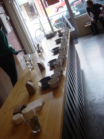 Coffee Cupping @ Stumptown Annex